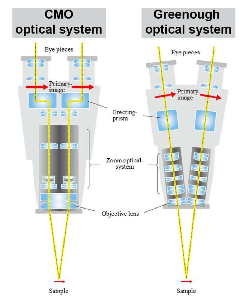 Greenough-Common-Main-Objective-optical-systems